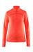 Craft Pin sweater oranje/rood